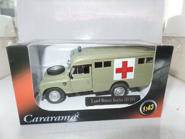 Cararama CR036 1/43 O Scale Land Rover III 109